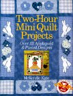 Two-Hour Mini Quilt Projects Over 111 Appliqued & Pieced Designs (Two-Hour Crafts)