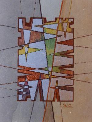 Grafische Linien I (Vollbild)