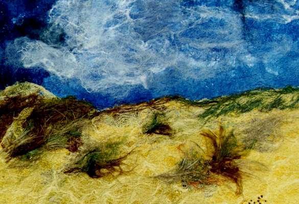 Sturm über den Dünen (Vollbild)